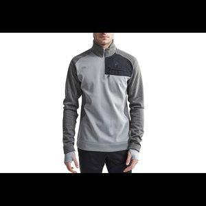 New Craft 1/2 zip mid layer fleece pullover XXL